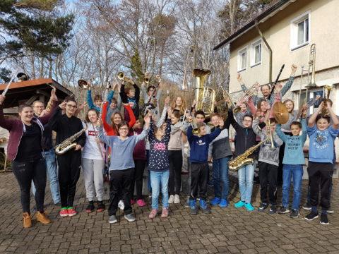Gruppenbild Jugendkapelle