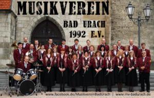 Gruppenbild Musikverein Bad Urach im Jahr 2010